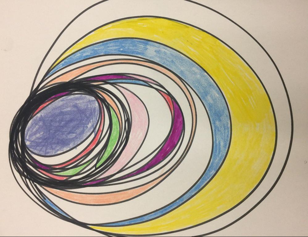 Creative therapy artwork