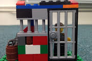Creative therapy lego model of person feeling trapped