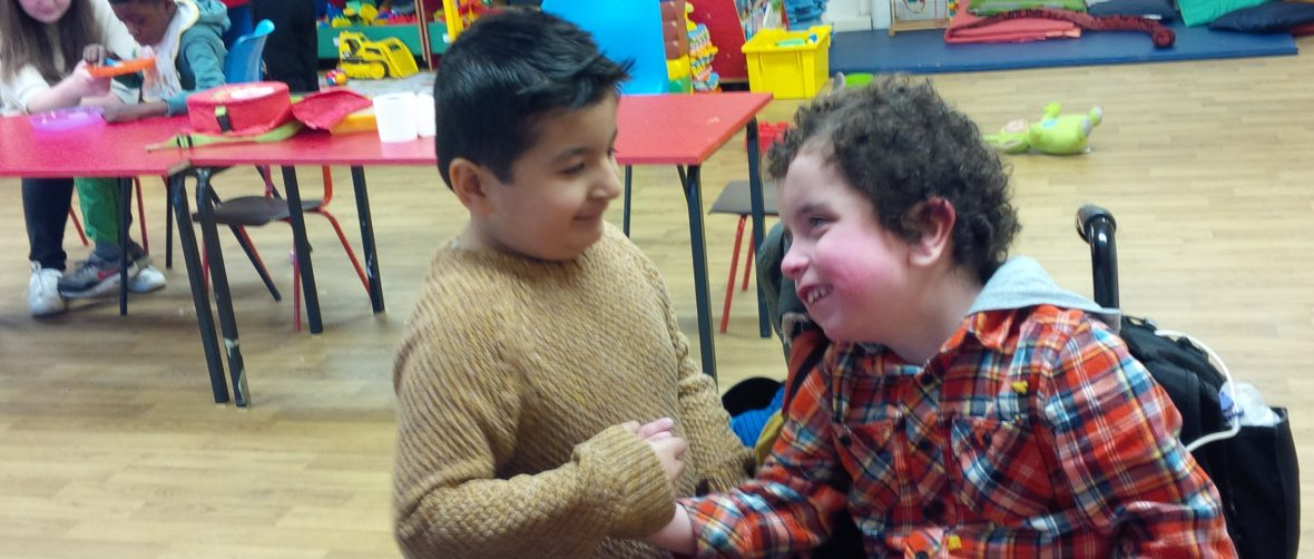 two friends at playscheme