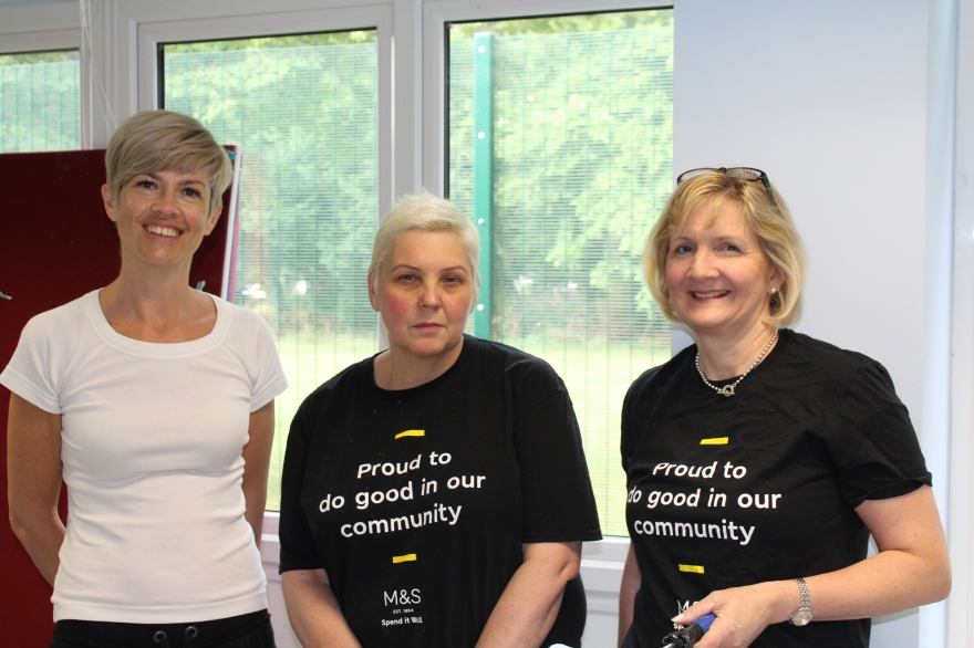 Marks and Spencer volunteers