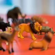 Animal play figures