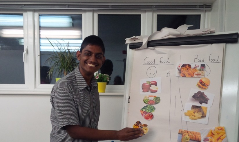 Youth transition project, making healthy choices